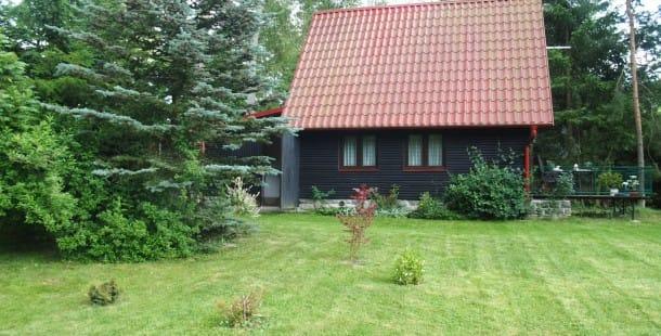 Vlachnovice, rybníky, chata